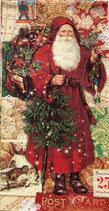 ゲストタオル 53677 Christmas Victorian