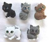 ボタン *6971 Kitten kaboodle
