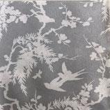 Dinner Nonwoven Fabric 10771 Silhouette Silver  6枚入