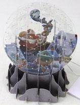 Snow Globe SGS003「Santa Sleigh」