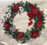 X'mas 3中 X28 611336 Christmas Wreath