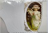 ヴィクトリア調 Greeting Card 18975932-03 女の子