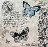 SI18中 F63 SLOG041101 Butterflies Postvard