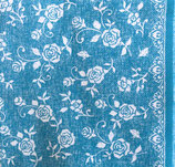 Dinner Nonwoven Fabric D-7 79163 Lace turkis   6枚入