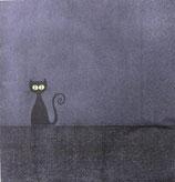 ハロウィン中 F65 22001 Gatto Nero 黒猫
