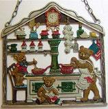 壁飾り*12-02268c Familie Bär くまの家族