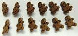 ボタン *1186 Gingerbread
