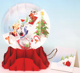 Snow Globe SGS-039L「Holiday Dogs」