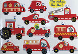 Timbre Stamp ST 338 My fire brigde steickers