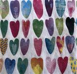 SI15中 F79 L844300 Rainbow Hearts