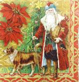 PS小 P02 53251 Old Tyme Christmas Santa