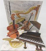 3Dカード * PS1118 「Classic Music」