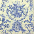 A中 C602 *3300L Romantic Toile Blue