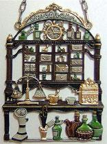 壁飾り * 12-02050c  Apotheke 薬屋