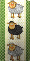 214 * 01336 Black and White Sheeps