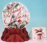 Snow Globe SGS-061L「Merry Christmas」