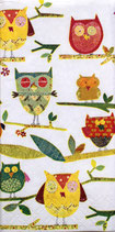 207 *01326 Colouful Owls