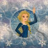 アニメ中 F107 SLOG04810 Frozen Girl