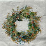 SPX小2 X44 3253889  Christmasu Hill Wreath