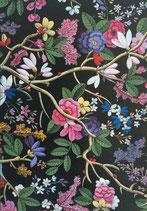 イギリス製ポストカード Textile Design