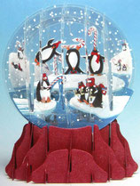 Snow Globe SGS017「Penguins」