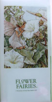 FF Ticket Holder FF-112 White Bindweed