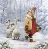 XS中 X36 DLX-33304840 Emmy Feeding Geese