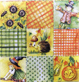 ハロウィン小 F92 12507980   Autumn Patchwork