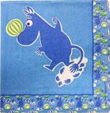 M小 F88 C704240 Moomintroll Blue