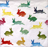イースターD・中 F101 380006   Colorful Rabbits