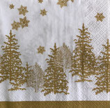 X'mas4中 X12 611722 Tree and Snowflakes gold