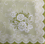 Dinner Nonwoven Fabric D-8  88390 Franziska 淡い抹茶グリーン  6枚入