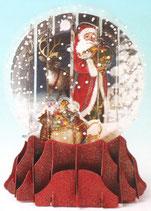 Snow Globe SGS063「Father Christmas」
