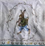 イースターD・中 F104 L844100 Edward Rabbit  グレイ