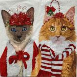 X'mas6中 Ⅹ38 1333837 Festive Felines