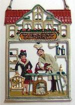 壁飾り *12-02113c Tierarzt 獣医師