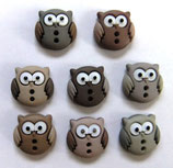 ボタン *6930 Sew Cute Owls