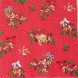 SIX小 X17 C-555410 Decorative Holly Red