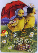 PS Greeting Cards APU-GC57326 Springtime Stroll