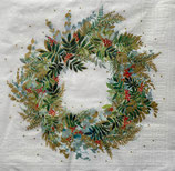 X'mas6中 Ⅹ44 3333889 Christmas Hill Wreath