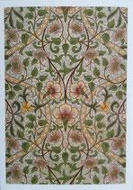 イギリス製ポストカード Daffodil Wallpaper