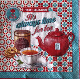 SI13中 F124 414-ALWA Its   Always time for tea