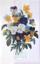 クリアファイル「パンジーのブーケ」*P004-08