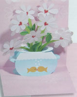 3Dカード PS825  「Fishbowl Romance」
