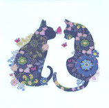 SI10中 F36  1332809 Floral Cats