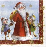 SPX小1  X01   DCX-593900 Santa with Kids