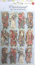 Stickers 42-59103「Santas」