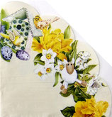 イースターD・中 F85 DL-R538560 円形 Daffodil Wreath