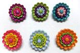 ボタン *5385 Floral Revolution