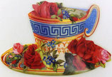 PS Greeting Cards MS57559 Rosy Teacup